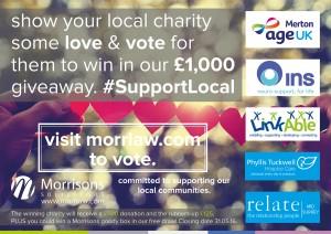 2016 charity £1,000 vote s