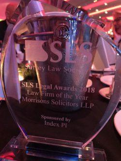 Surrey Law Society Awards 2018