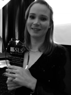 Holly Chantler Surrey Law Society Awards 2018