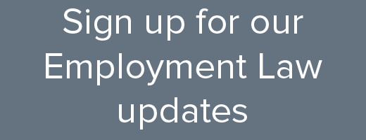 Employment Law updates - 1