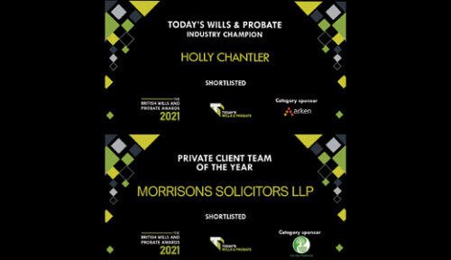 Wills and Probate Awards 2021